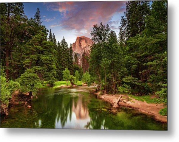 Yosemite Sunset - Single Image Metal Print