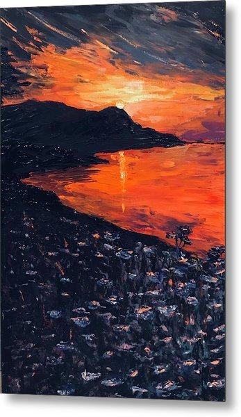 You Make The Sunset Shout For Joy Metal Print