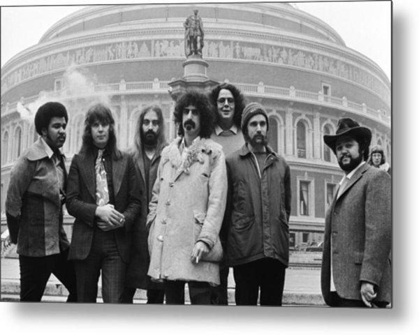 Zappa & The Mothers Metal Print