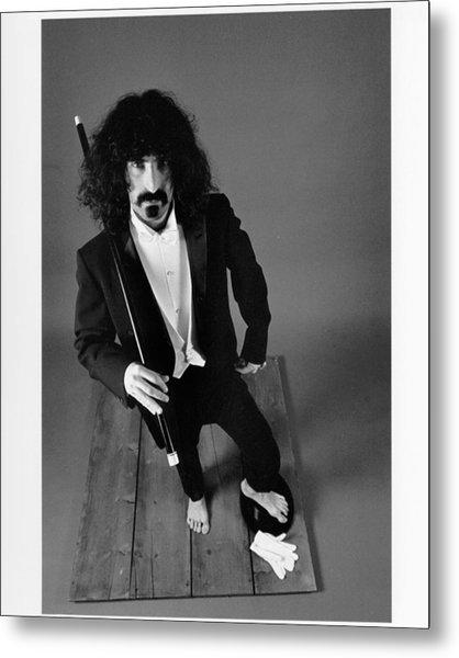 Zappa In A Tux Metal Print