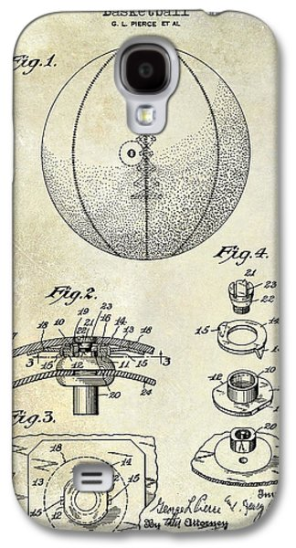 1927 Basketball Patent Drawing Galaxy S4 Case