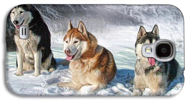 Alaskan Malamute Galaxy S4 Case by Trudi Simmonds