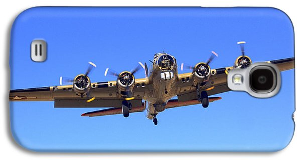 B17 Flying Fortress On Approach At Livermore Klvk Galaxy S4 Case