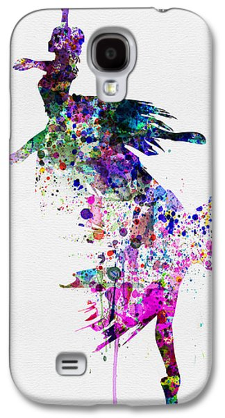 Ballet Watercolor 3 Galaxy S4 Case by Naxart Studio