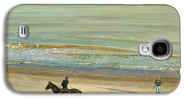 Beach Dialogue Dunwich Galaxy S4 Case by Timothy  Easton