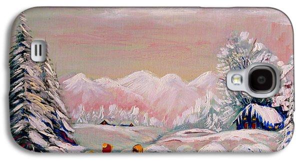 Beautiful Winter Fairytale Galaxy S4 Case