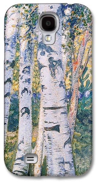 Birch Trees Galaxy S4 Case