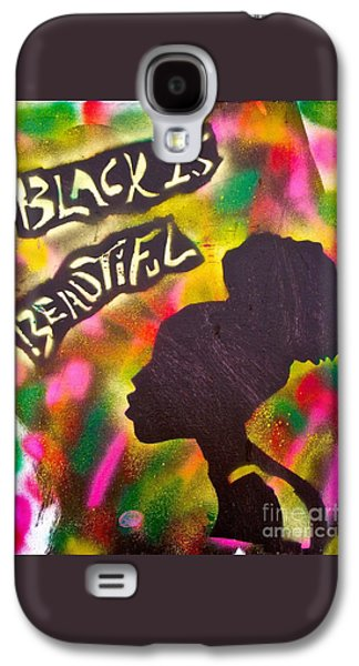 Black Is Beautiful Girl Galaxy S4 Case