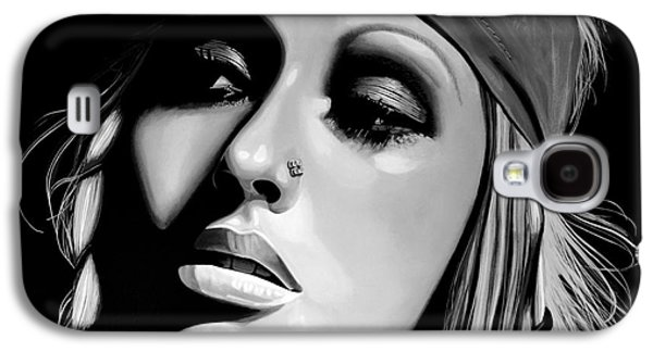 Christina Aguilera Galaxy S4 Case