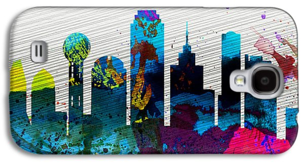 Dallas City Skyline Galaxy S4 Case