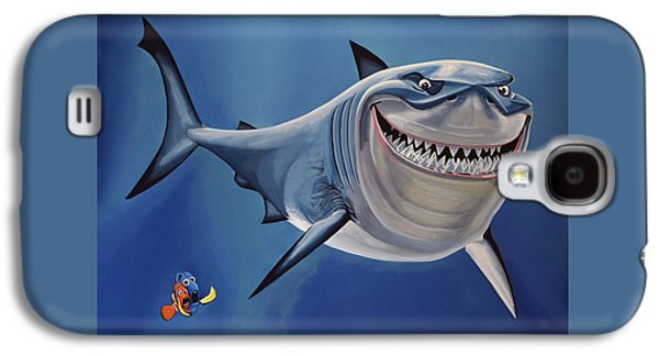 Finding Nemo Painting Galaxy S4 Case by Paul Meijering
