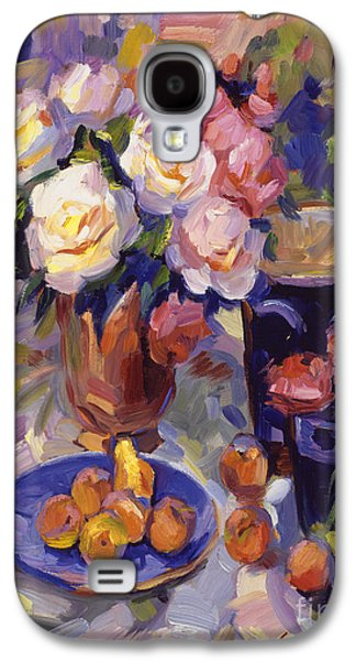 Flowers And Fruit At Montecito Galaxy S4 Case by David Lloyd Glover