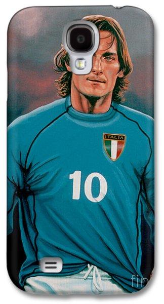 Francesco Totti 2 Galaxy S4 Case by Paul Meijering