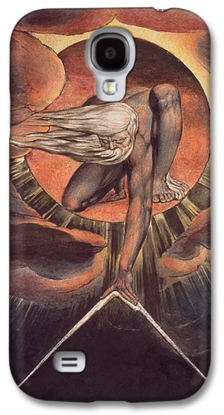 Frontispiece From 'europe. A Prophecy' Galaxy S4 Case by William Blake