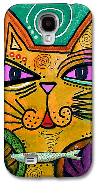 House Of Cats Series - Fish Galaxy S4 Case by Moon Stumpp