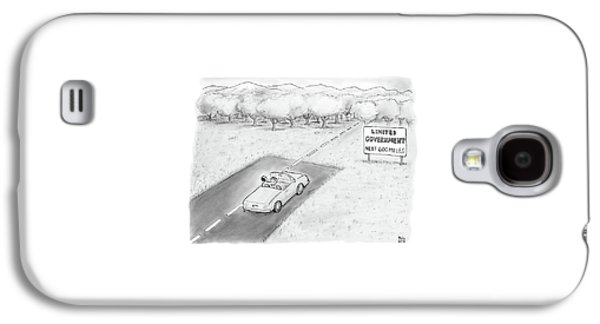 Limited Government Galaxy S4 Case by Paul Noth