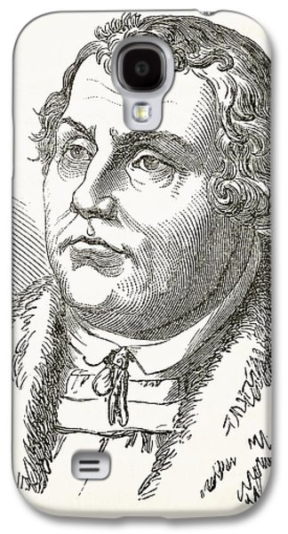 Martin Luther  Galaxy S4 Case