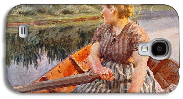 Midsummer Night Galaxy S4 Case by Anders Leonard Zorn