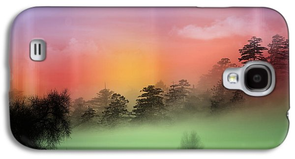 Mist Coloring Day Galaxy S4 Case by Mark Ashkenazi