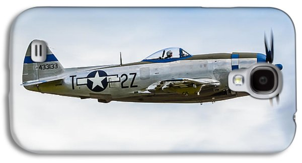 Republic P-47d Thunderbolt Galaxy S4 Case by Puget  Exposure