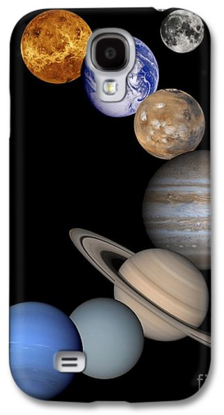 Solar System Montage Galaxy S4 Case by Anonymous