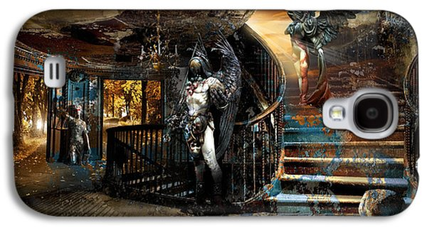 Stairway To Heaven Vs. Stairwell To Hell Galaxy S4 Case by George Grie