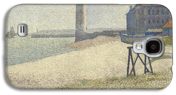 The Lighthouse At Honfleur Galaxy S4 Case