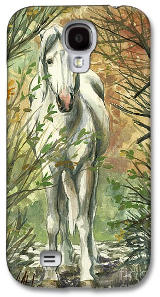 The Look Out Galaxy S4 Case by Linda L Martin