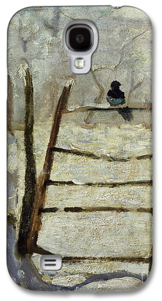 The Magpie Galaxy S4 Case by Claude Monet