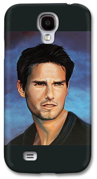 Tom Cruise Galaxy S4 Case by Paul Meijering