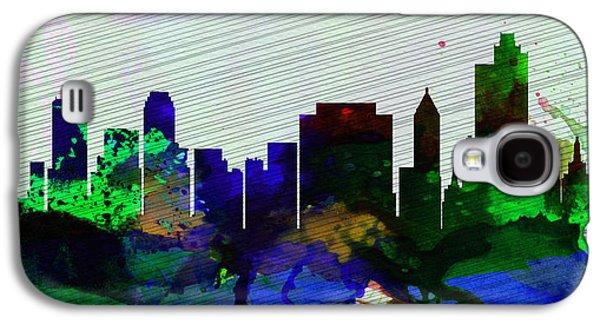Tulsa City Skyline Galaxy S4 Case by Naxart Studio