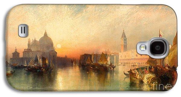 View Of Venice Galaxy S4 Case by Thomas Moran