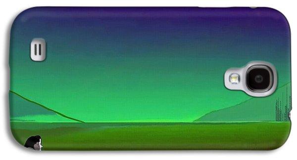 011 - Moon River Galaxy S4 Case
