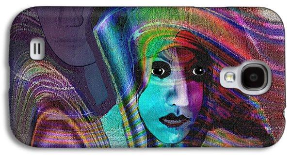 091 -   Madonna Arrabbiata ... Galaxy S4 Case by Irmgard Schoendorf Welch