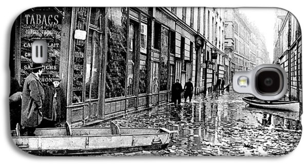 10th Century Flooded Paris Street Galaxy S4 Case