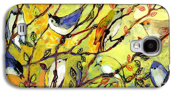 16 Birds Galaxy S4 Case by Jennifer Lommers