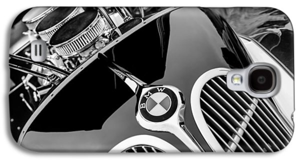 1938 Bmw 327-8 Cabriolet Grille Emblem - Engine Galaxy S4 Case by Jill Reger