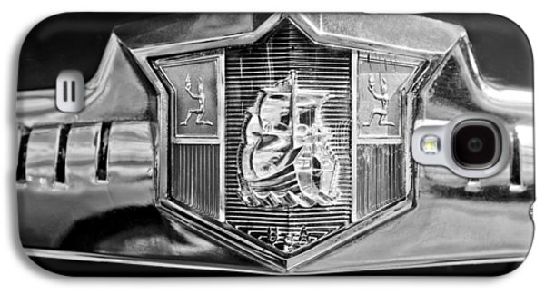 1949 Plymouth P-18 Special Deluxe Convertible Emblem Galaxy S4 Case by Jill Reger