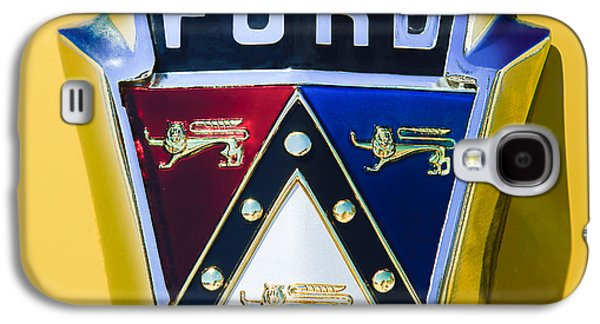 1950 Ford Custom Deluxe Station Wagon Emblem Galaxy S4 Case