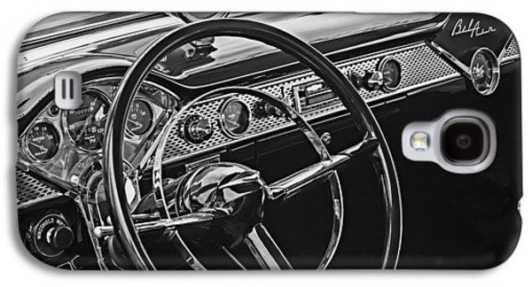 1955 Chevrolet Belair Steering Wheel - Dashboard Emblems Galaxy S4 Case