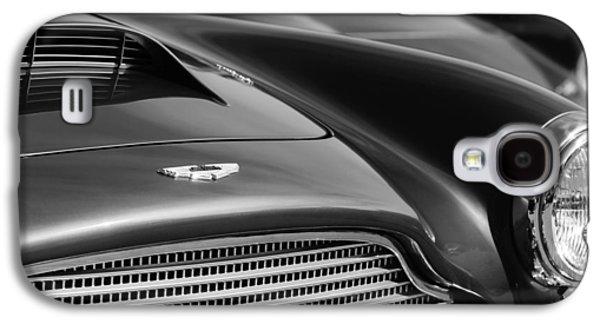 1960 Aston Martin Db4 Series II Grille - Hood Emblem Galaxy S4 Case by Jill Reger