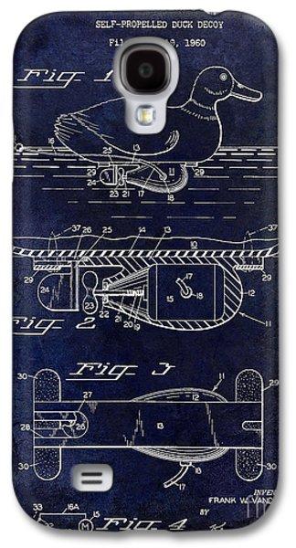 1963 Duck Decoy Patent Drawing Galaxy S4 Case by Jon Neidert