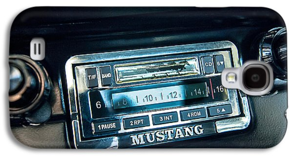 1965 Shelby Prototype Ford Mustang Radio Galaxy S4 Case by Jill Reger