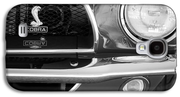 1968 Ford Mustang Fastback 427 Ci Cobra Grille Emblem Galaxy S4 Case by Jill Reger