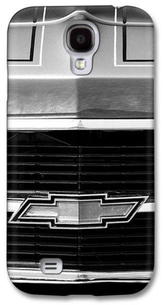1969 Chevrolet Grille Emblem Galaxy S4 Case by Jill Reger