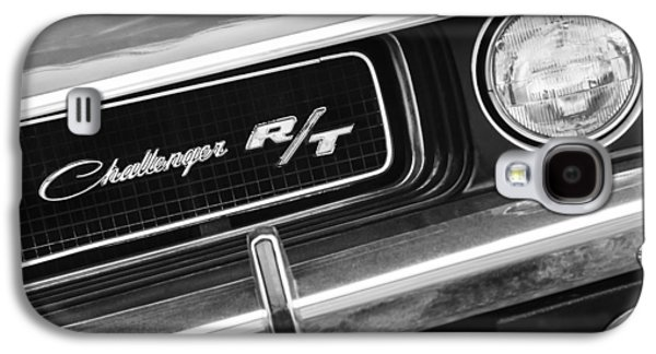 1970 Dodge Challenger Rt Convertible Grille Emblem Galaxy S4 Case by Jill Reger