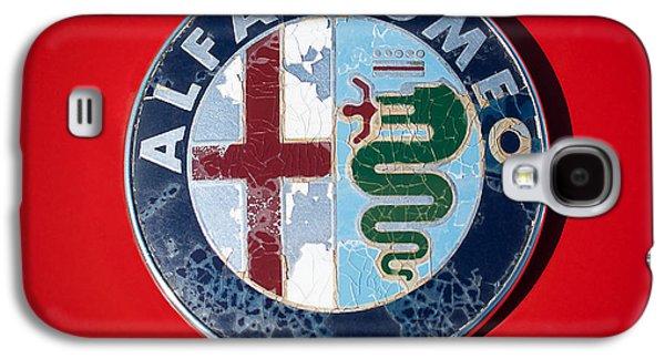 1986 Alfa Romeo Spider Quad Emblem Galaxy S4 Case by Jill Reger