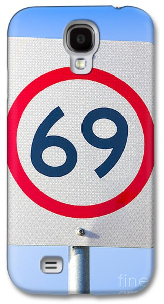 69 Road Sign On The Highway Of Love Galaxy S4 Case by Jorgo Photography - Wall Art Gallery