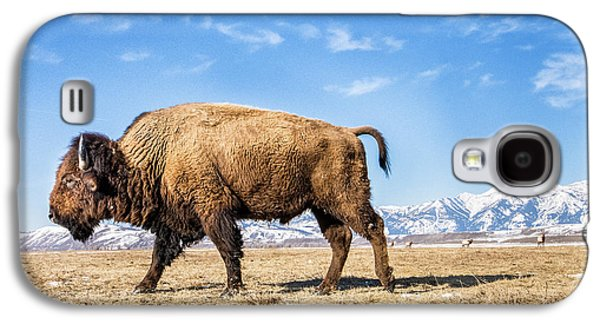 A Bison In The 24,700-acre National Elk Galaxy S4 Case