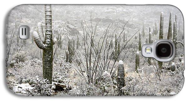 A Desert Snow Day  Galaxy S4 Case